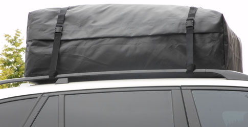 RoofBag Rooftop Carrier on Car With Roof Rack