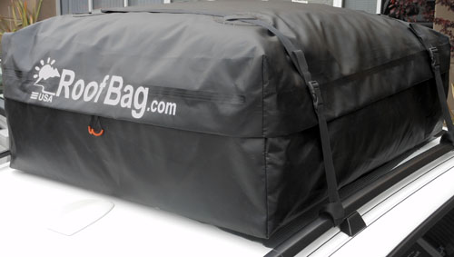 RoofBag Car Top Carrier For Cars With Rack
