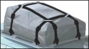 Car Top Carrier Straps for Cross Bars and Side Rails