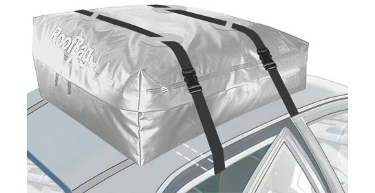 Gray Roofbag Cross Country Car Top Carrier