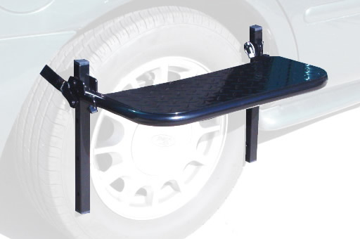 Tire Step for car top carrier