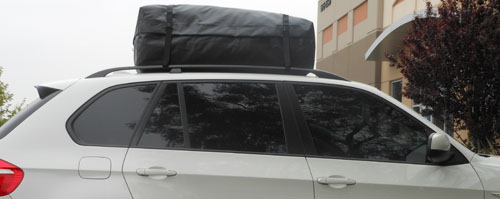 Roofbag Car Top Carrier Installation Cars With Or