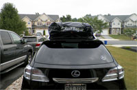 Lexus RX 350 with RoofBag Car Top Carrier