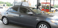Toyota Camry with RoofBag Car Top Carrier