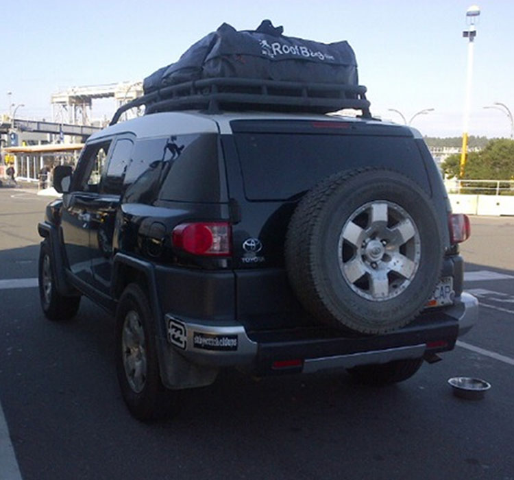 Toyota Fj Cruiser Rooftop Bag
